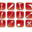 Construction Icons — Stock Vector #21376001