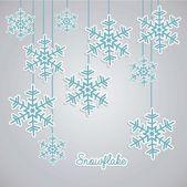 Icona di inverno — Vettoriale Stock