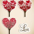 Love tree — Stock Vector #21688393