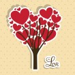 Love tree — Stock Vector #21688411