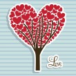 Love tree — Stock Vector #21688417