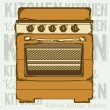 Kitchen — Stock Vector #22065859