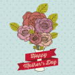 Stock Vector: Mother's Day