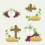 Eucharistic sacrament — Stock Vector #22416181