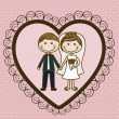 Illustration of love - Imagen vectorial