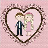 Illustrazione dell'amore — Vettoriale Stock