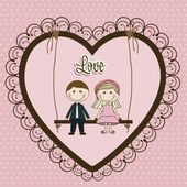 Illustration of love — Stock Vector