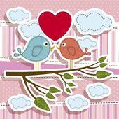Ilustração do amor — Vetor de Stock