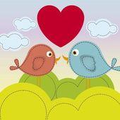 Ilustração do amor — Vetorial Stock