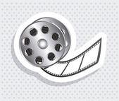 Ikony filmowe — Wektor stockowy