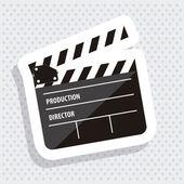 Cine icon — Stock Vector