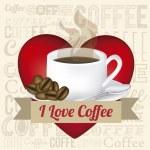 Coffee illustration — Stock Vector #24238475