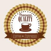 Coffee illustration — Stock Vector