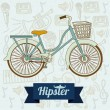 Hipster illustration — Stock Vector #24787891