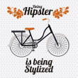 Hipster illustration — Stock Vector #24788417