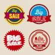 Stock Vector: Discount labels