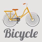 自転車の図 — ストックベクタ