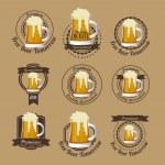 Beer Free label — Stock Vector