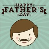 Father's day — Vector de stock