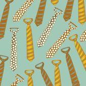 Men's ties — Stock Vector