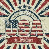 USA poster — Stock Vector
