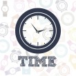 Time icons — Vector de stock