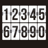 Countdown timer — Stock Vector