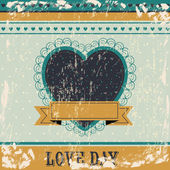 Love day — Stock Vector