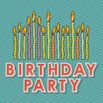 Happy birthday candles — Stock Vector #26069657