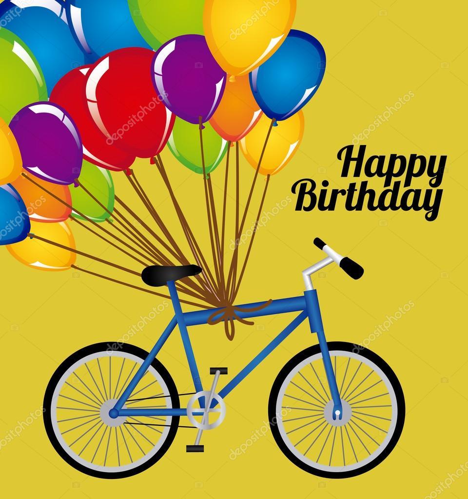 Поздравление с днем рождения велосипедисту
