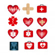 Medical icons — Stock Vector #26268703