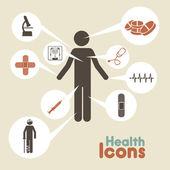 Health icons — Vetorial Stock