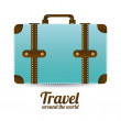 Travel arround the world — Stock Vector