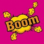 Boom comics icons — Stock Vector #26395053
