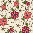 Flowers background  — Stockvectorbeeld