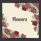 Růže design — Stock vektor