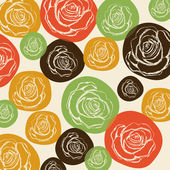 Roses design — Stock Vector