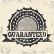 Stock Vector: Guaranteed seal