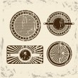 Vintage seals — Stock Vector