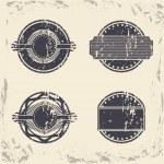 Vintage seals — Stock Vector #26638623