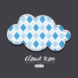 Cloud icon — Stock Vector #26640071