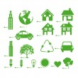 Stock Vector: Sustainable icons