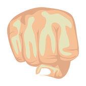 Fist design — Stock Vector