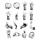 руки символов — Cтоковый вектор