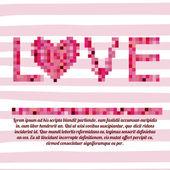 Láska design — Stock vektor