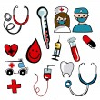 Medical icons — Stock Vector #27644753