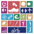 Sports icons — Stock Vector #27644991