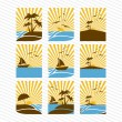 Summer icons — Stock Vector #27646751