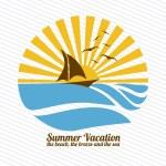 Summer vacations — Stock Vector #27647035