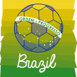 Soccer brazilian — Stock Vector #27653237